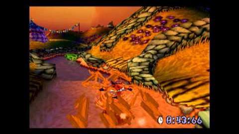 Gee Wiz - Platinum Relic - Crash Bandicoot 3 Warped - 105% Playthrough (Part 34)