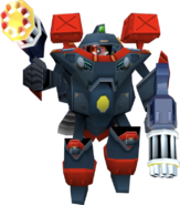 Crash Bandicoot 3 Warped Doctor N. Gin's Mech (First Form)
