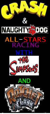 File:CrashNaughtyDogAllStarsWithTheSimpsonsAndRatchetAndClank-PlayStation3.png
