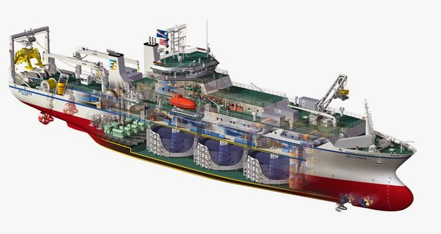 File:TycoReliance L really cool cutaway of a cable-laying ship.jpg