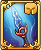 Card crystalissword