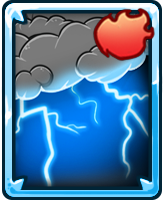 Card thunderstorm