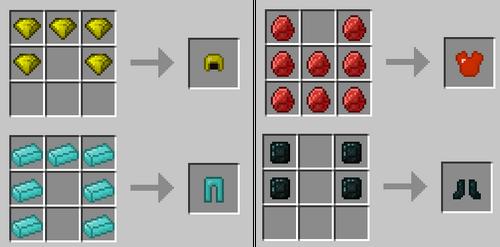 Armor recipes