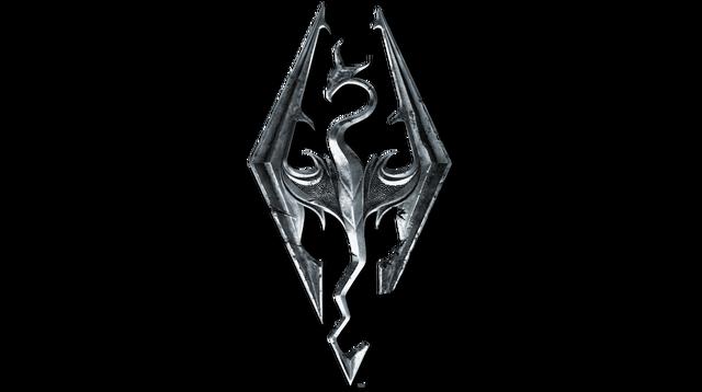 File:Elder scrolls v skyrim logo by imperial96-d60nvqv.png