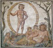 Ouranos mosaic
