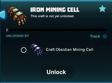 Creativerse unlocks R41 iron mining cell01