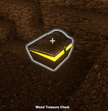Creativerse Wood Treasure Chest Jungle closed001