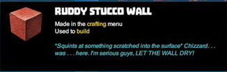 Creativerse tooltips R40 106 Stucco Mosaic Tile Walls