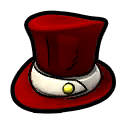 Top Hat Red