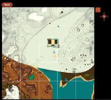 Creativerse Map showing Rockzilla R29 55