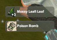 Creativerse unlock R22 Mossy Leafi Leaf Poison Bomb020