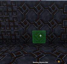 Creativerse Rhombus Obsidian Wall88