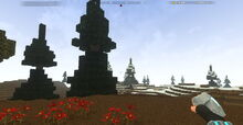 Creativerse Tundra with flowers339