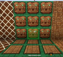 Creativerse Mayan block sets212