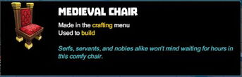 Creativerse R41 colossal castle medieval chair tooltip02