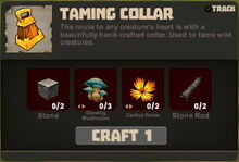 Creativerse Taming Collar R23