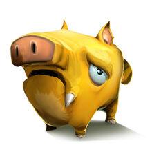 Creativerse Artwork pigsy sad001