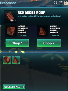 Creativerse R41,5 processing corners for roofs 511