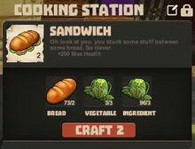 Creativerse Sandwich lettuce lettuce03