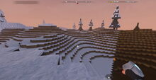 Creativerse Tundra with and without snow1001