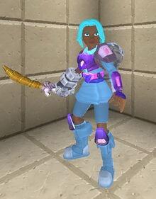 Creativerse sword holding 103