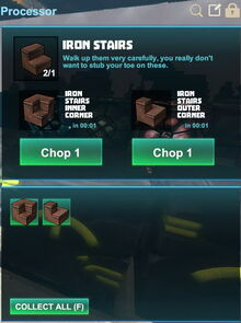 Creativerse R41,5 processing corners for stairs 530