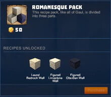 Creativerse 01 Romanesque Pack01