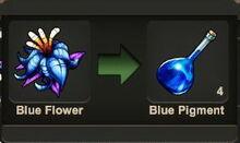 Creativerse Blue Flower pigment200