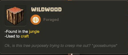 Creativerse R27 tooltips wood logs0705