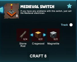Creativerse R41 colossal castle medieval switch crafting recipe01