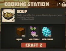 Creativerse Soup Molasses and Blizzard Egg R32