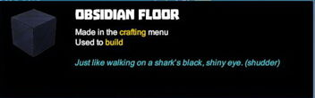 Creativerse tooltips R40 057 obsidian blocks crafted