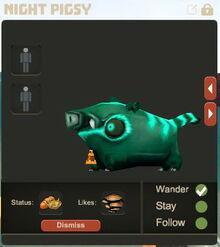 Creativerse Night Pigsy Pet R23 00019