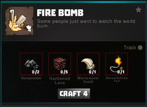 Creativerse crafting recipes R34 Explosives 0121