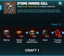 Creativerse crafting Stone Mining Cell alternatively 2017-06-02 16-30-40-81