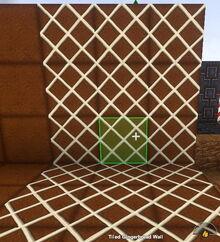 Creativerse Tiled Gingerbread Wall733