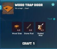 Creativerse R35 Wood Trap Door recipe001