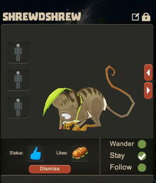 Creativerse Shrewdshrew Pet eating3003