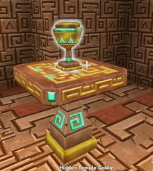 Creativerse X hidden temple goblet001