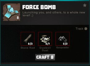 Creativerse crafting recipes R34 Explosives 0117