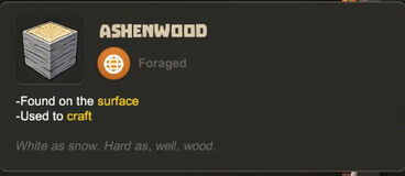 Creativerse R27 tooltips wood logs0703