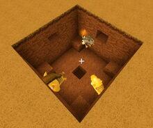 Creativerse R41 TNT detonated 2 blocks deep
