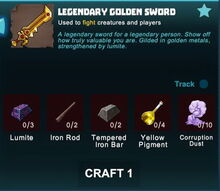 Creativerse sword crafting recipe 26