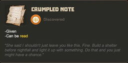 Creativerse R27 crumpled note 93