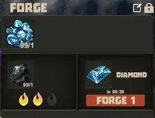 Creativerse Diamond to Bar001