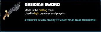 Creativerse sword tooltip 20