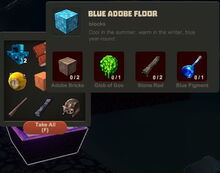 Creativerse Blue Adobe Floor Diamond Chests