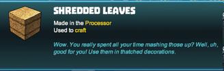 Creativerse shredded leaves R39