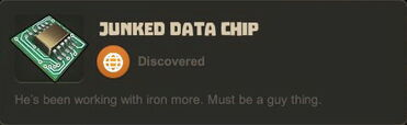 Creativerse data chip working with iron77