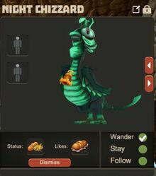 Creativerse Night Chizzard Pet R23 82244